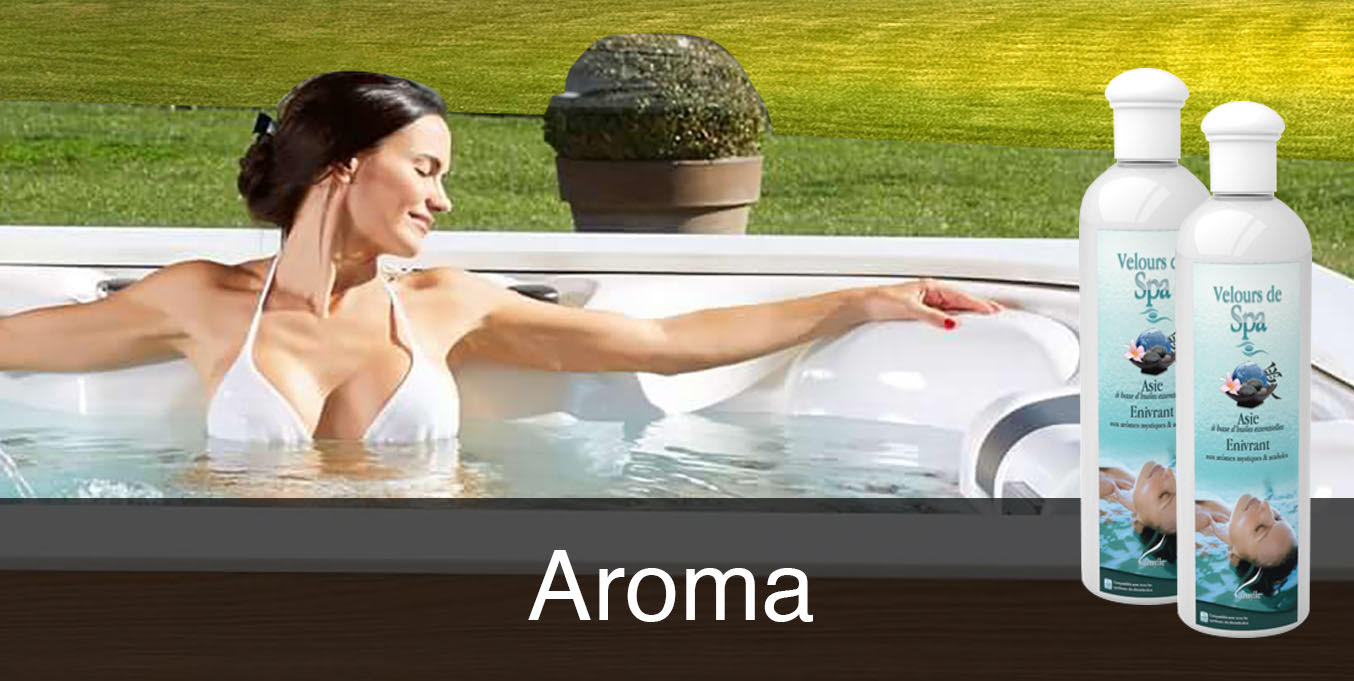 Aroma bad for swimspa